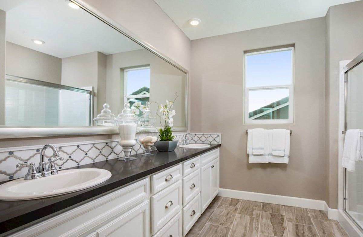 Bathroom featured in the Residence 3 By Beazer Homes in Visalia, CA