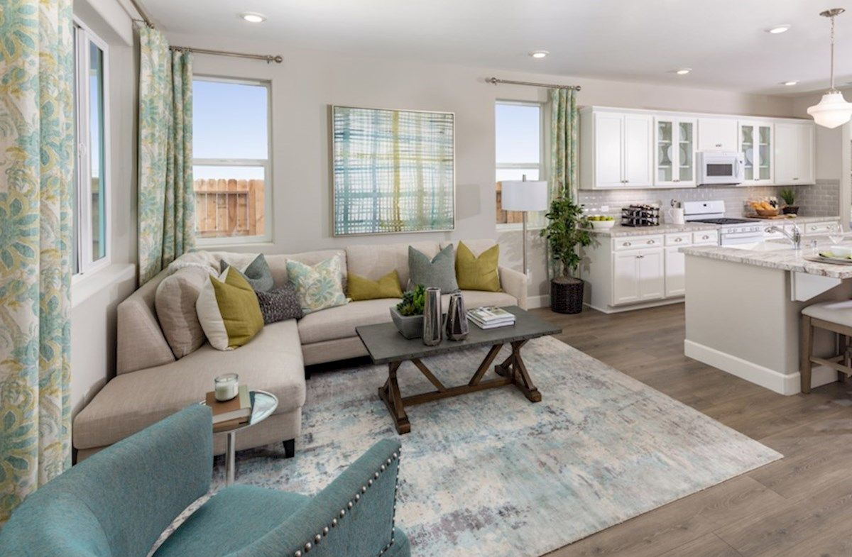 Living Area featured in the Residence 3 By Beazer Homes in Visalia, CA