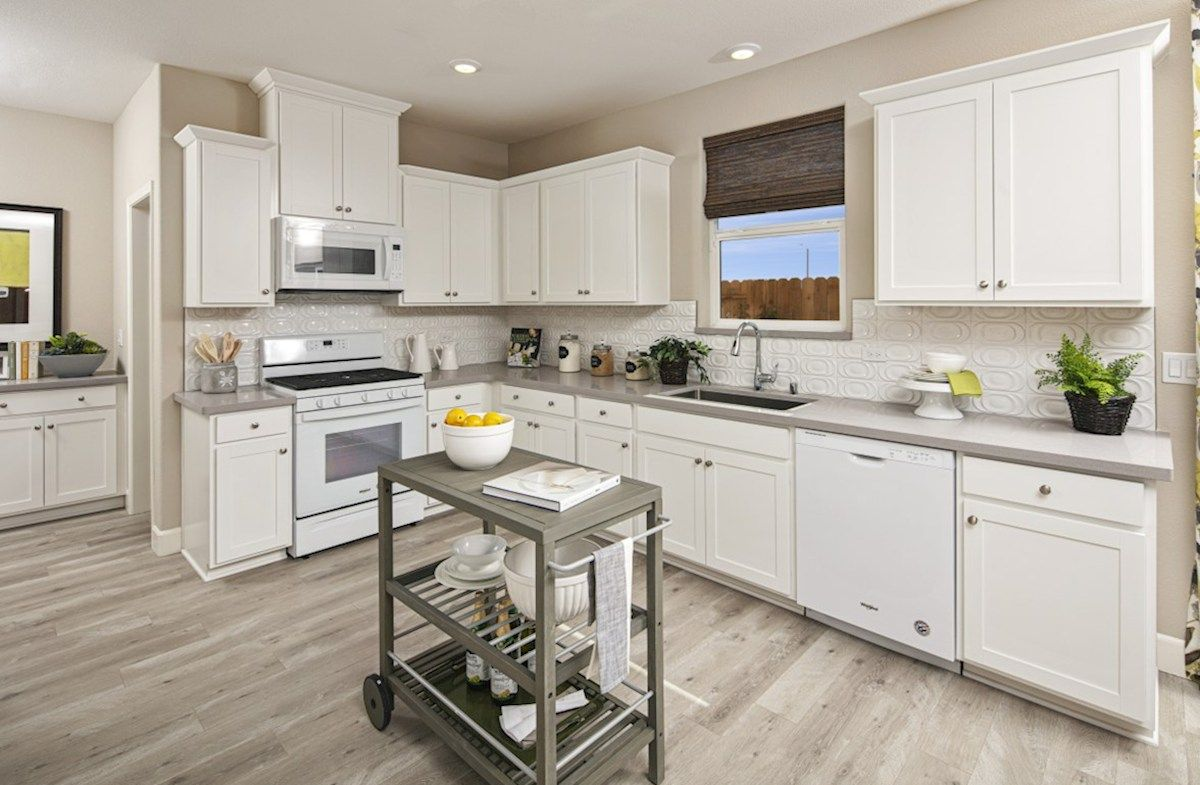 Kitchen featured in the Residence 3 By Beazer Homes in Visalia, CA