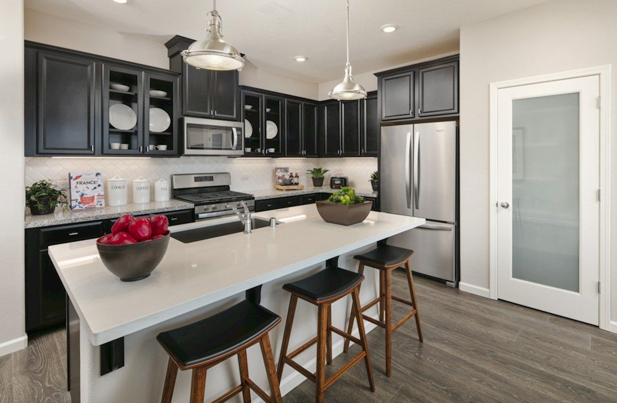 Kitchen featured in the Residence 2 By Beazer Homes in Visalia, CA