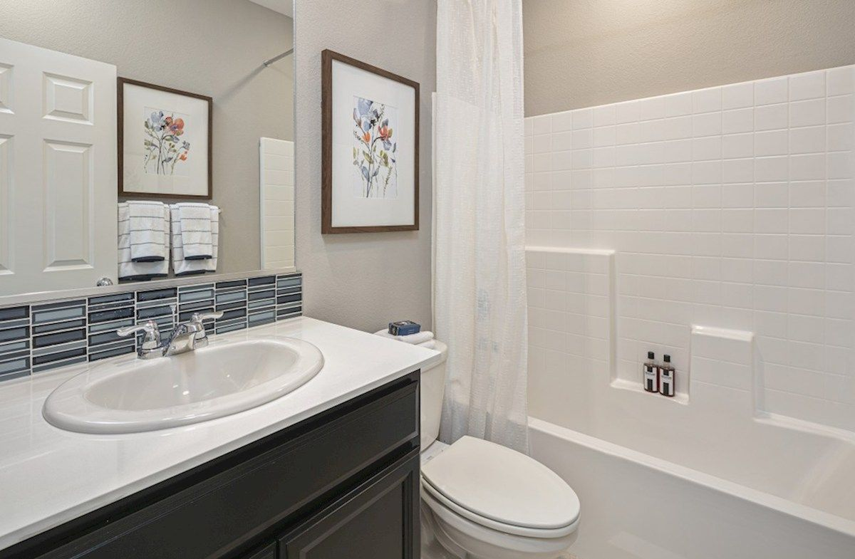 Bathroom featured in the Residence 2 By Beazer Homes in Visalia, CA