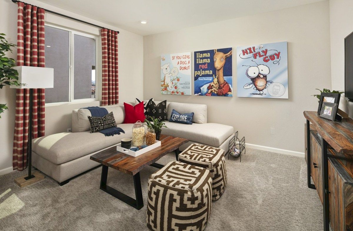 Living Area featured in the Residence 2 By Beazer Homes in Visalia, CA