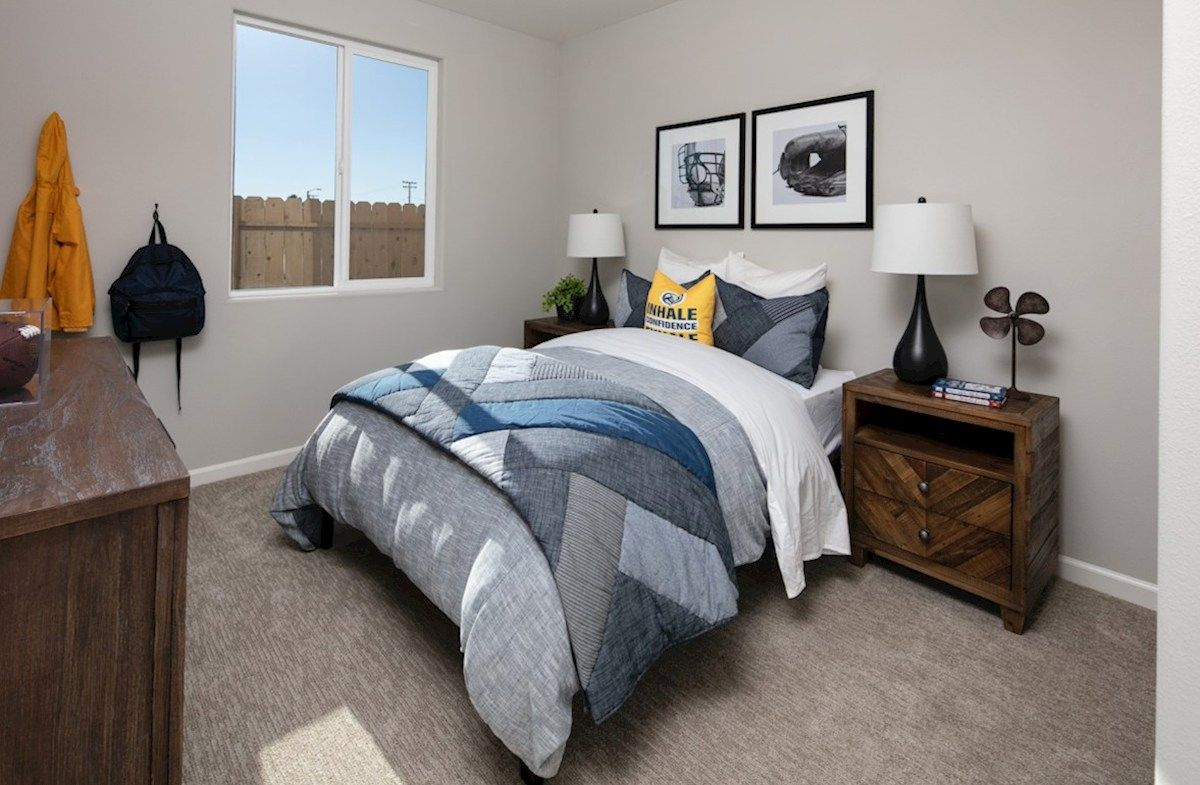 Bedroom featured in the Residence 5 By Beazer Homes in Visalia, CA