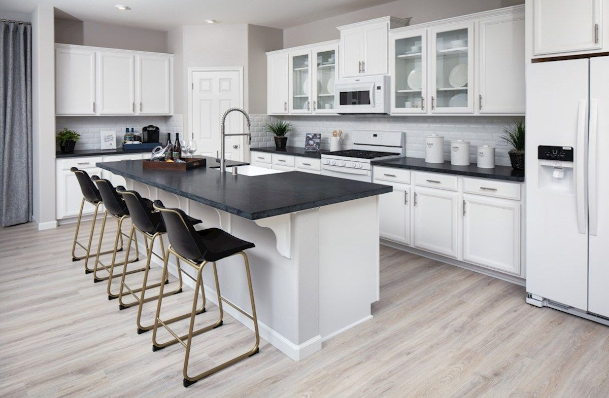 Kitchen featured in the Residence 5 By Beazer Homes in Visalia, CA
