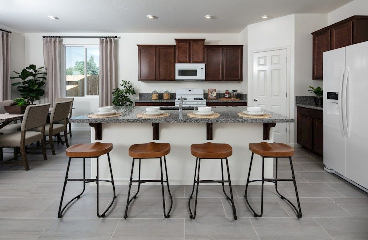 Kitchen featured in the Residence 4 By Beazer Homes in Visalia, CA