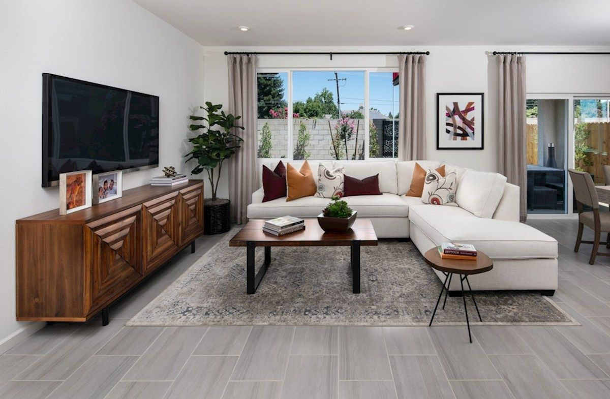 Living Area featured in the Residence 4 By Beazer Homes in Visalia, CA