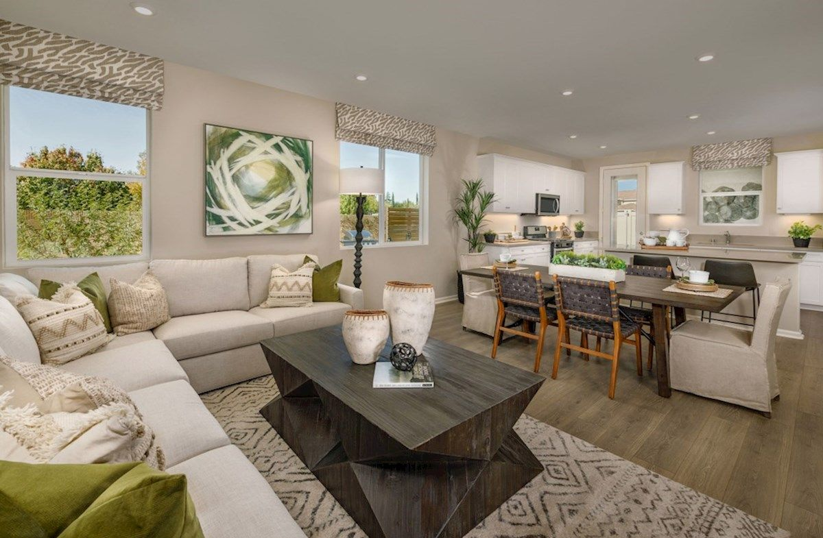 Living Area featured in the Olive By Beazer Homes in Los Angeles, CA