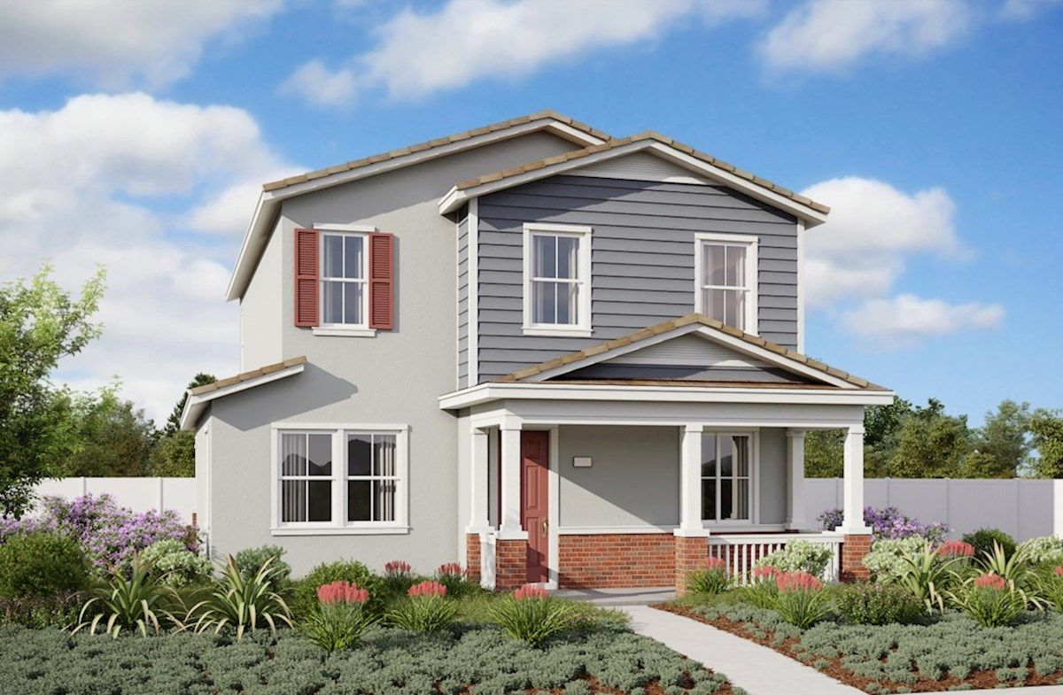 Exterior featured in the Nokota By Beazer Homes in San Diego, CA
