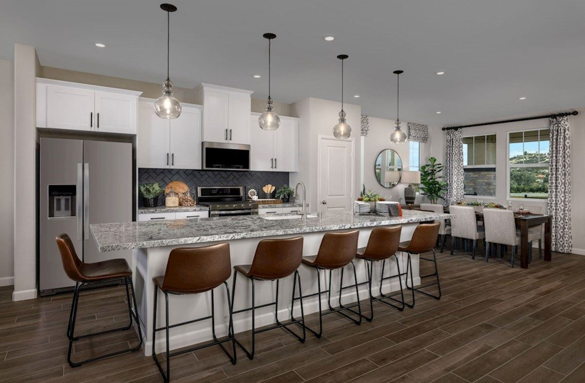 Kitchen featured in the Dartmoor By Beazer Homes in San Diego, CA