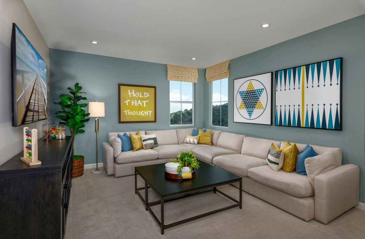Living Area featured in the Nokota By Beazer Homes in San Diego, CA
