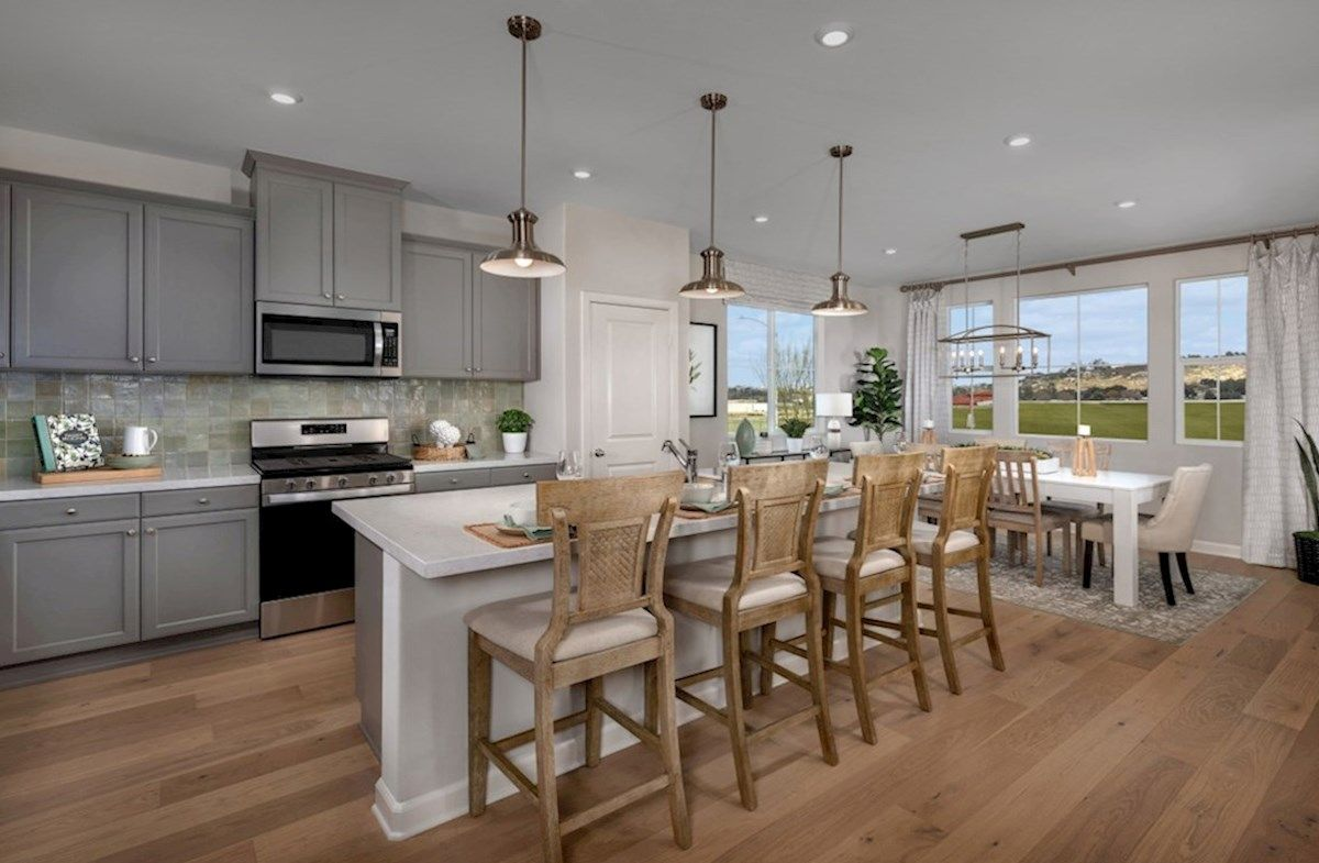 Kitchen featured in the Camarillo By Beazer Homes in San Diego, CA