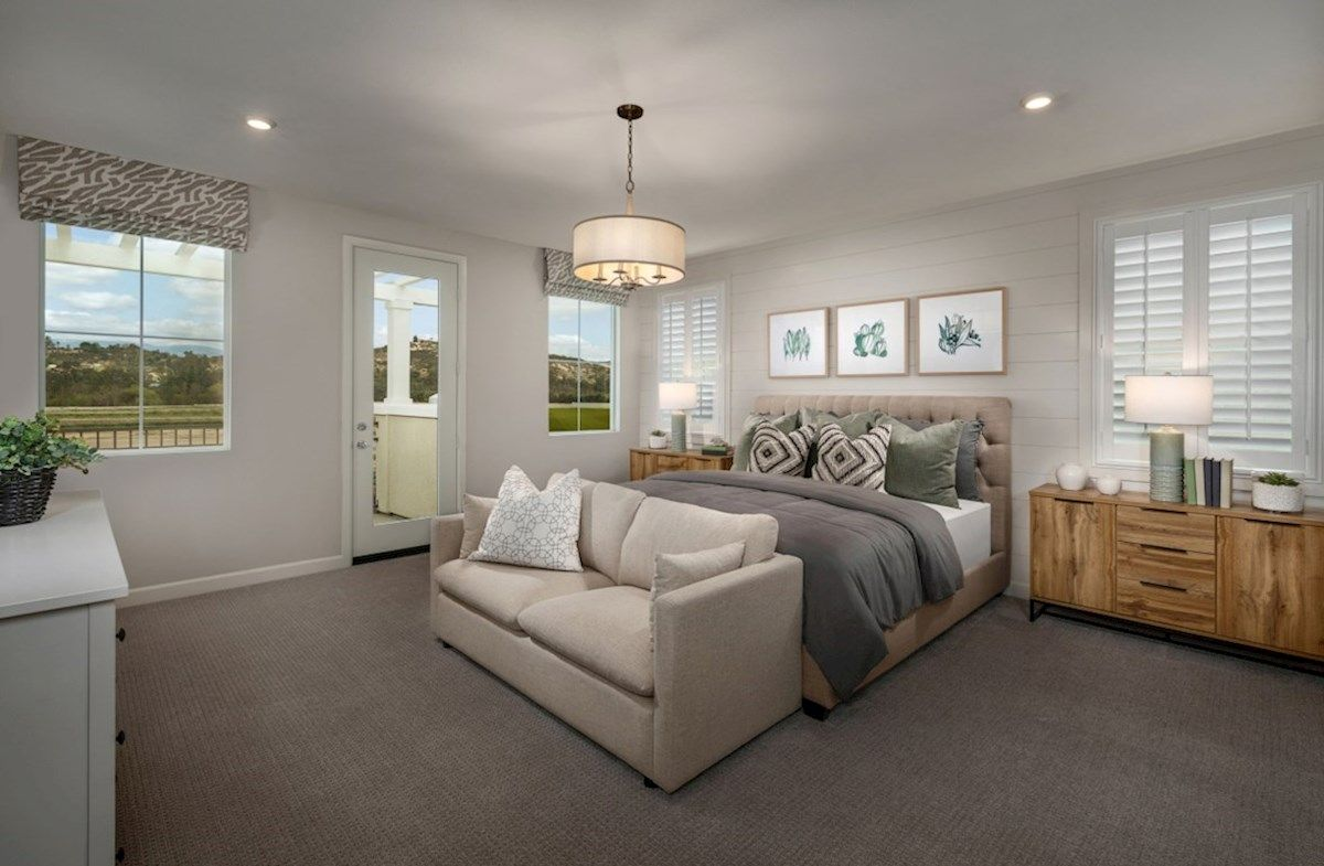 Bedroom featured in the Camarillo By Beazer Homes in San Diego, CA