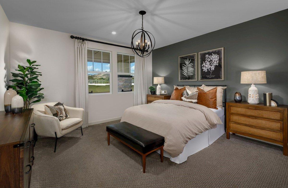 Bedroom featured in the Dartmoor By Beazer Homes in San Diego, CA