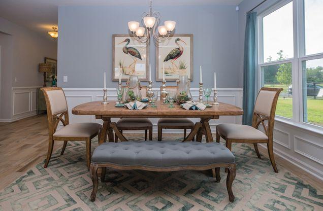 Interior:Georgetown dining room