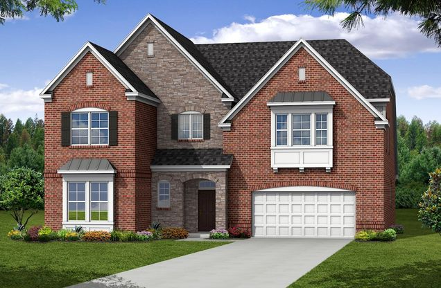 Exterior:French Country U Elevation