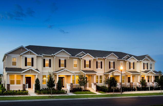 Summerlake Townhomes in Winter Garden, FL, New Homes & Floor Plans ...