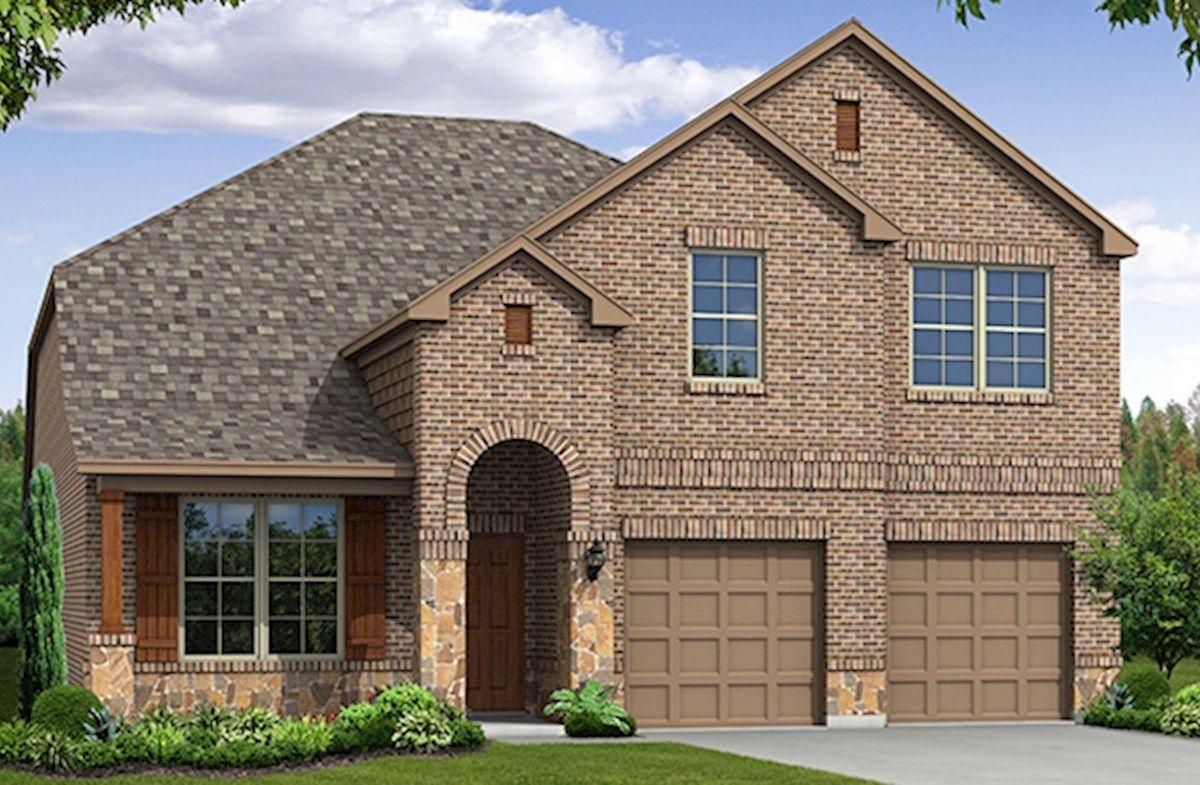 Prescott Plan, Melissa, Texas 75454 - Prescott Plan at North Creek ...