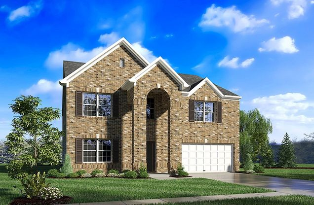 Jefferson Plan At Creekside In Columbus In By Beazer Homes