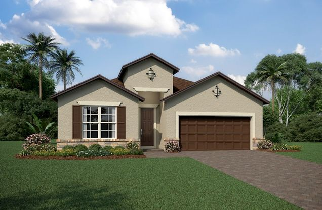 Exterior:Tuscan A Elevation