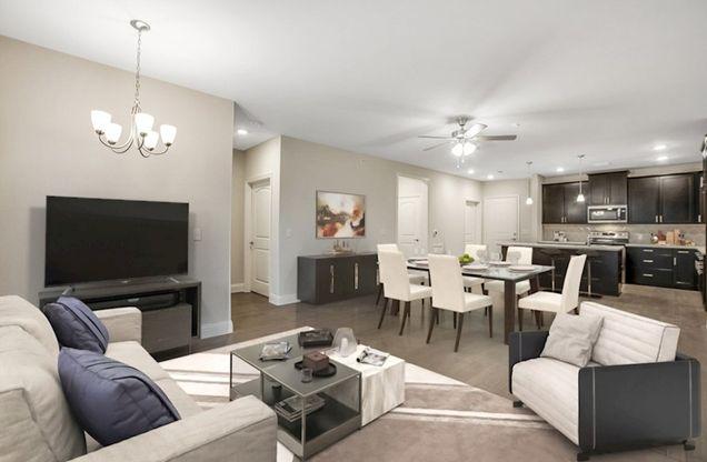Interior:Clifton Family Room & Kitchen