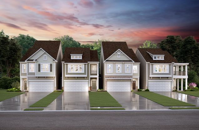 New Townhome Front Elevations