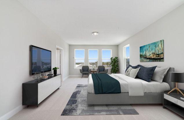 Interior:Dogwood Master Bedroom