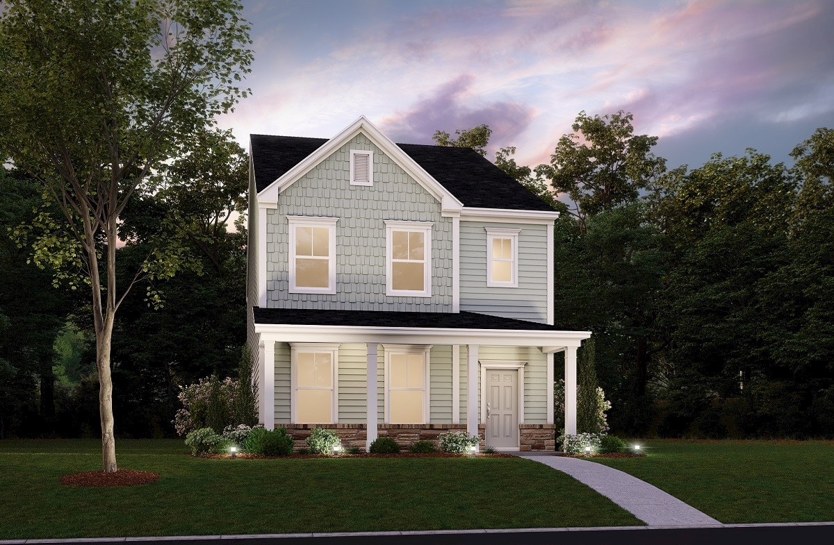 Palmetto Plan At The Marshes At Cooper River In Charleston Sc By Beazer Homes