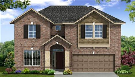 Pine Creek At Canyon Lakes West In Cypress Tx New Homes