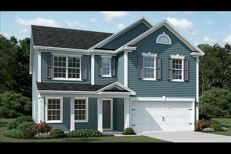 beazer home colors mckinley plan at hunt club in pooler georgia by beazer homes