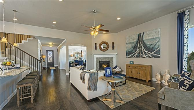 Creekside At Craig Ranch In Mckinney Tx New Homes