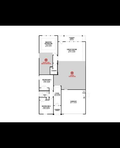 floor plan madison image - Lake Ridge Beazer Homes Floor Plans