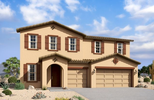 Exterior:Spanish Colonial L Elevation