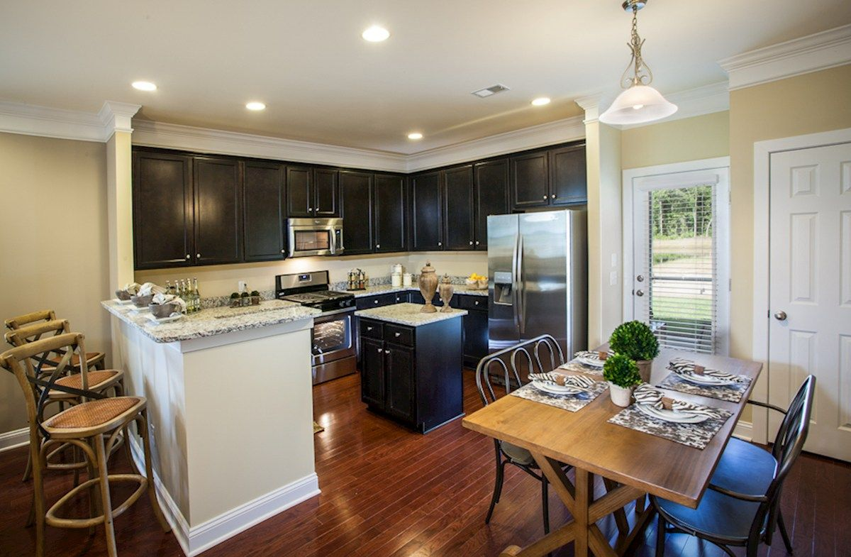 Kitchen featured in the Franklin By Beazer Homes in Savannah, GA
