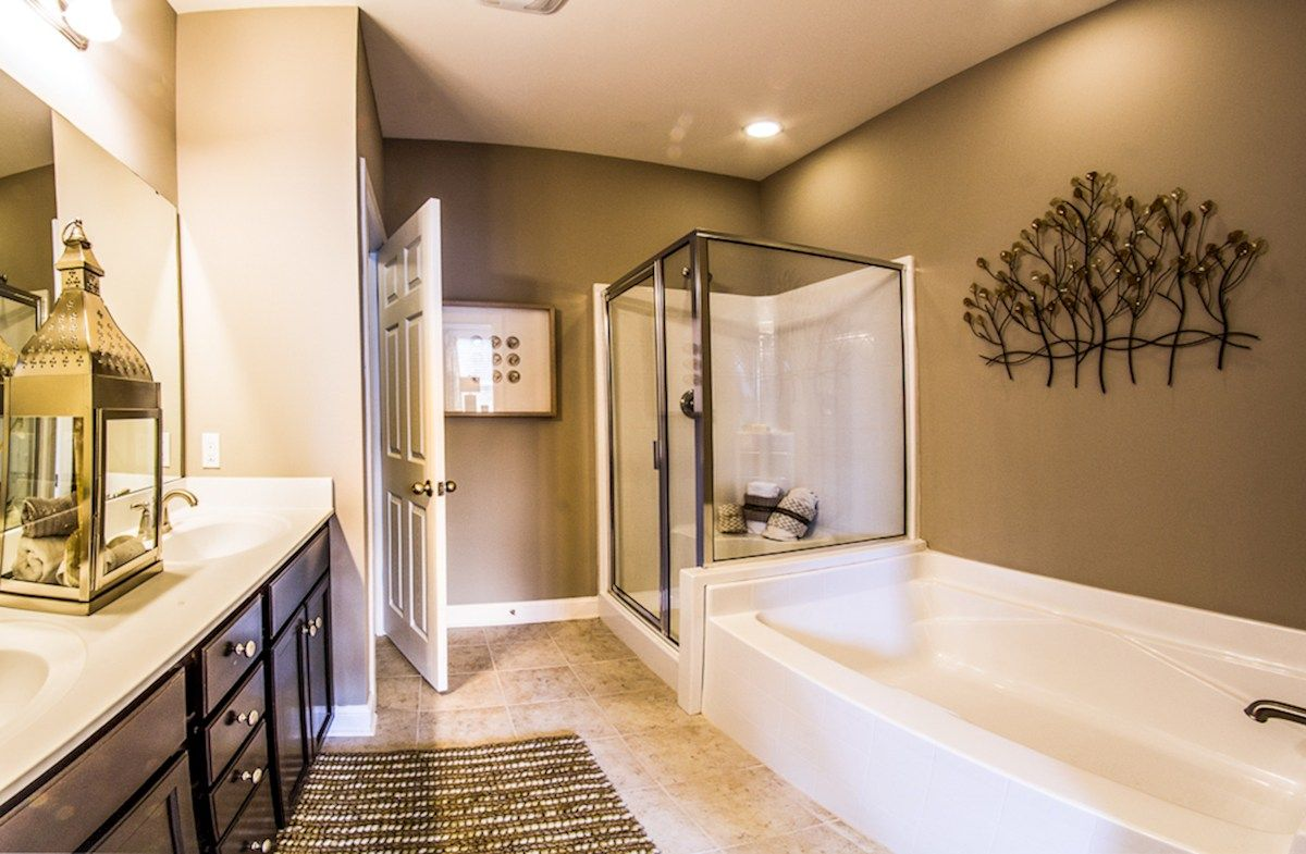 Bathroom featured in the Franklin By Beazer Homes in Savannah, GA