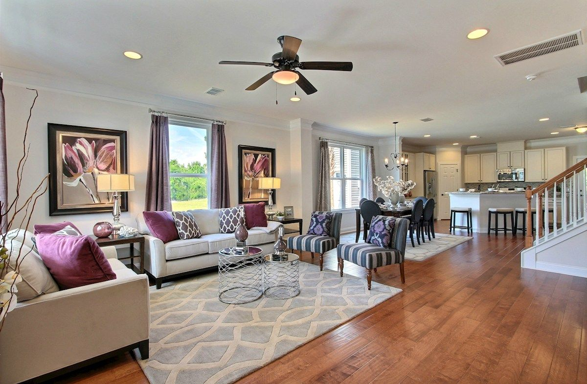 Living Area featured in the McKinley By Beazer Homes in Savannah, GA