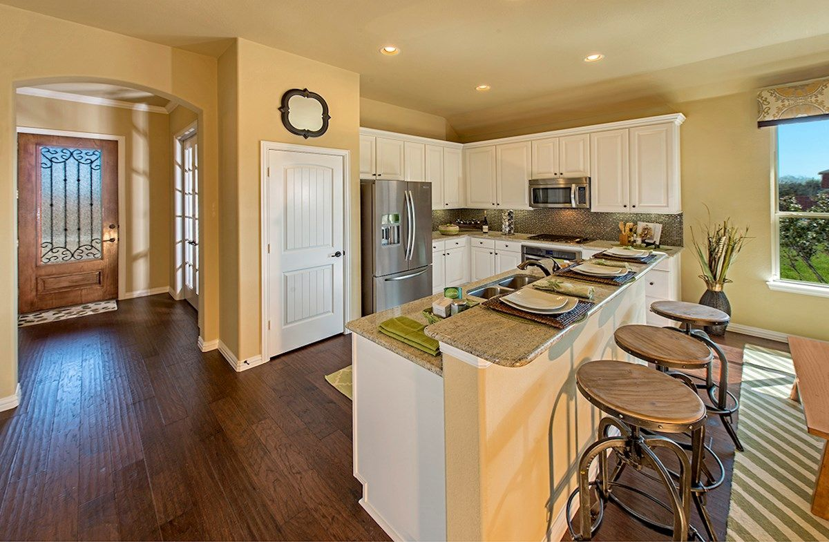 Kitchen featured in the Silverado By Beazer Homes in Dallas, TX