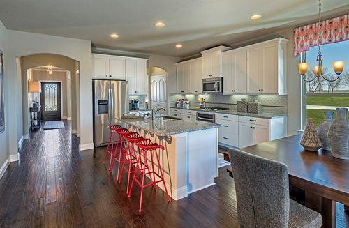 Kitchen-in-Prescott-at-North Creek-in-Melissa