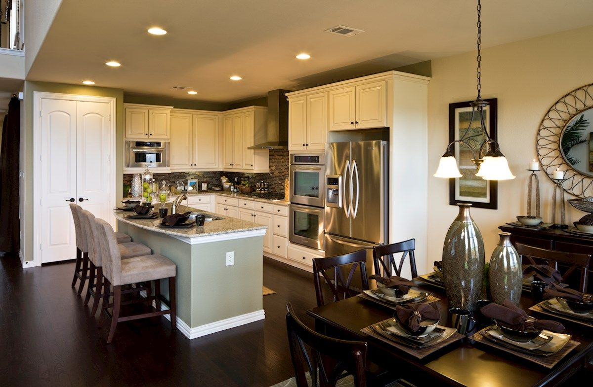 Kitchen featured in the Westfield By Beazer Homes in Dallas, TX