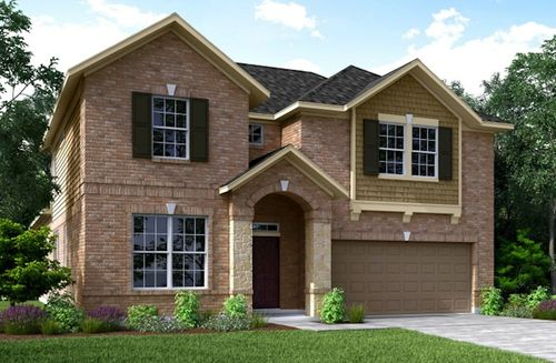bonbrook lakes by beazer homes in houston texas - Lake Ridge Beazer Homes Floor Plans
