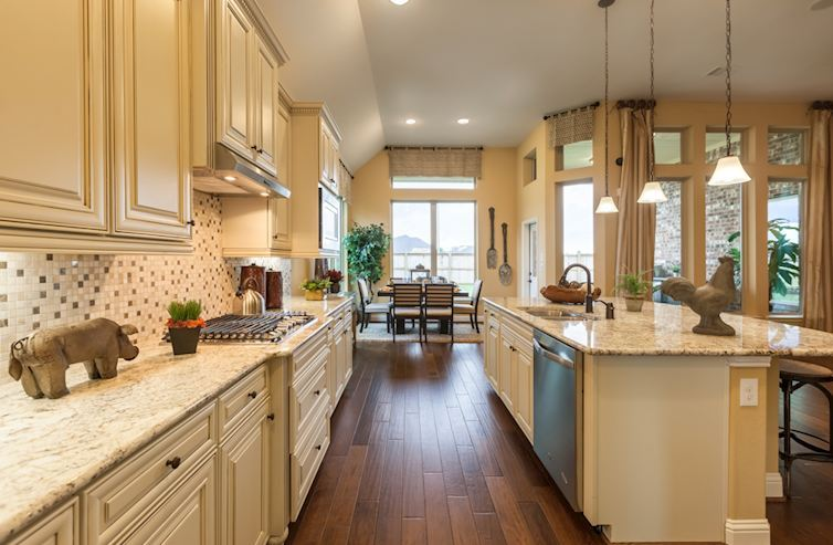 Kitchen-in-Caldwell-at-Bluewater Lakes-in-Manvel