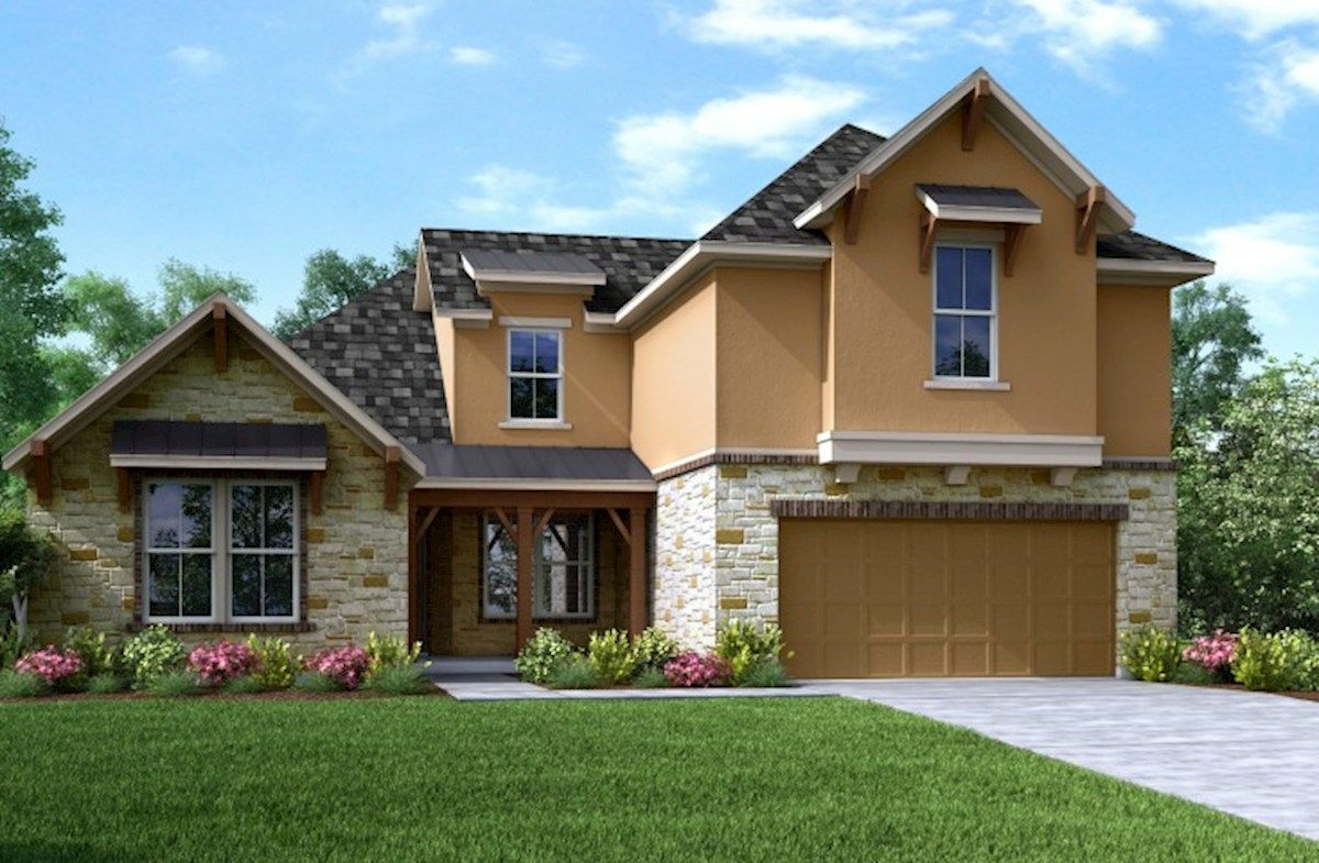 Bonbrook Lakes in Rosenberg, TX, New Homes & Floor Plans by Beazer Homes