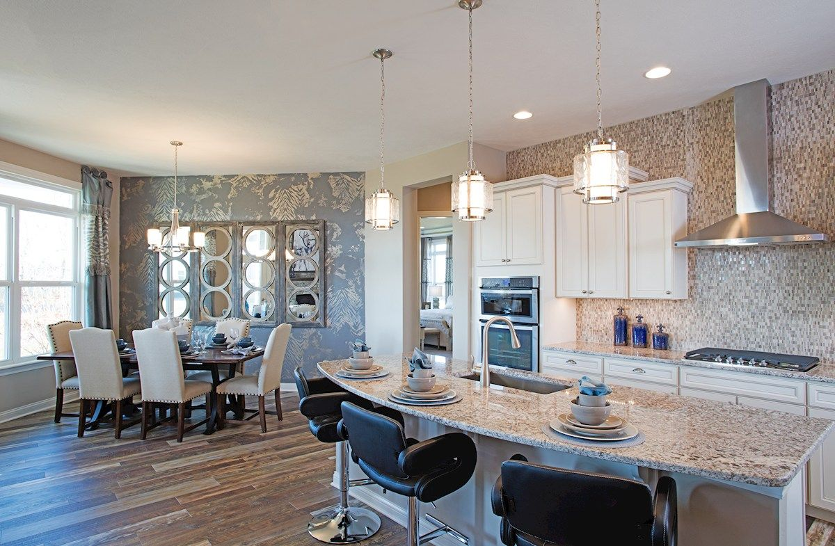 Kitchen-in-Charleston-at-Reserve At Woodside-in-Noblesville