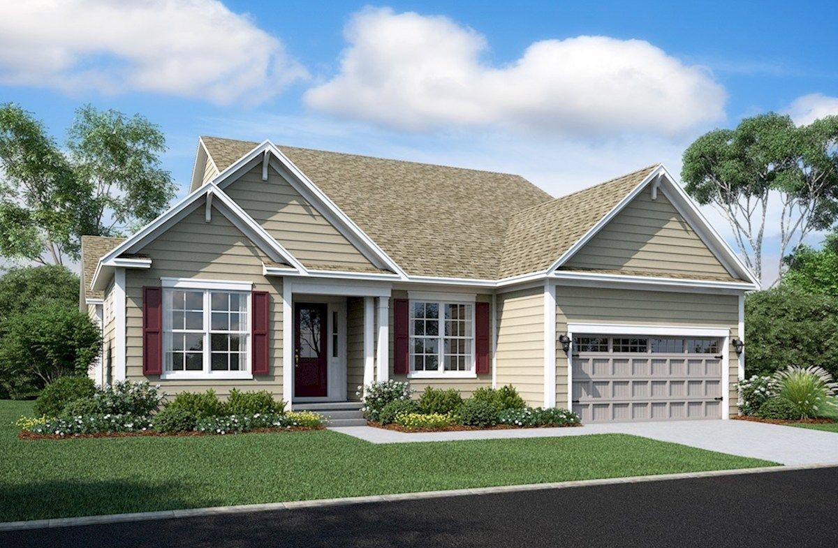 Exterior featured in the Dirickson By Beazer Homes in Sussex, DE