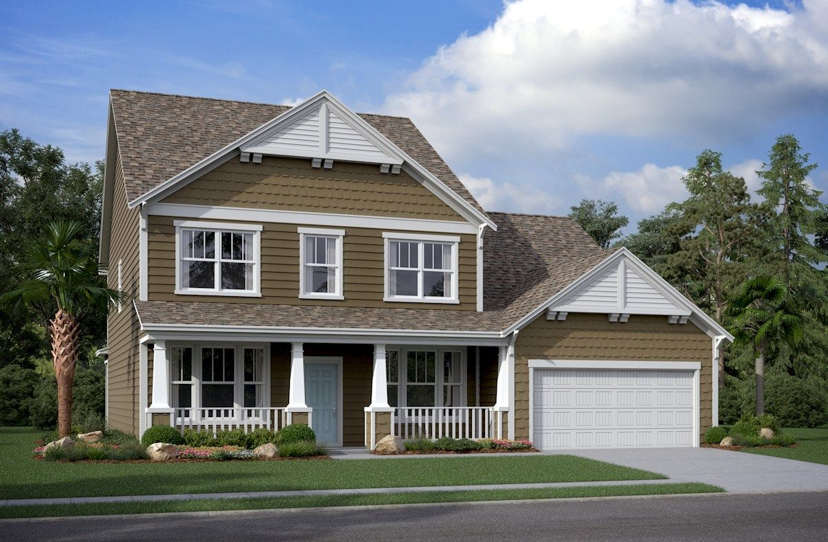 Exterior featured in the Ivey By Beazer Homes in Myrtle Beach, SC