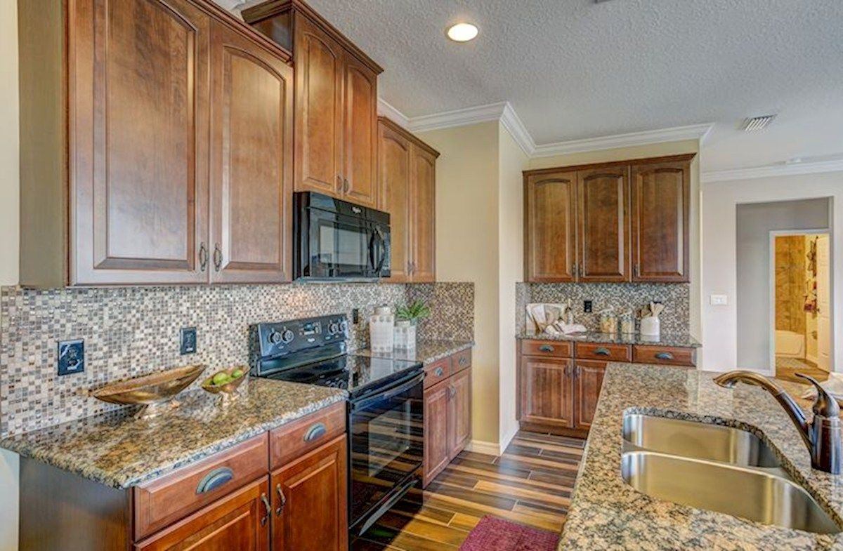 Kitchen featured in the Captiva By Beazer Homes in Tampa-St. Petersburg, FL
