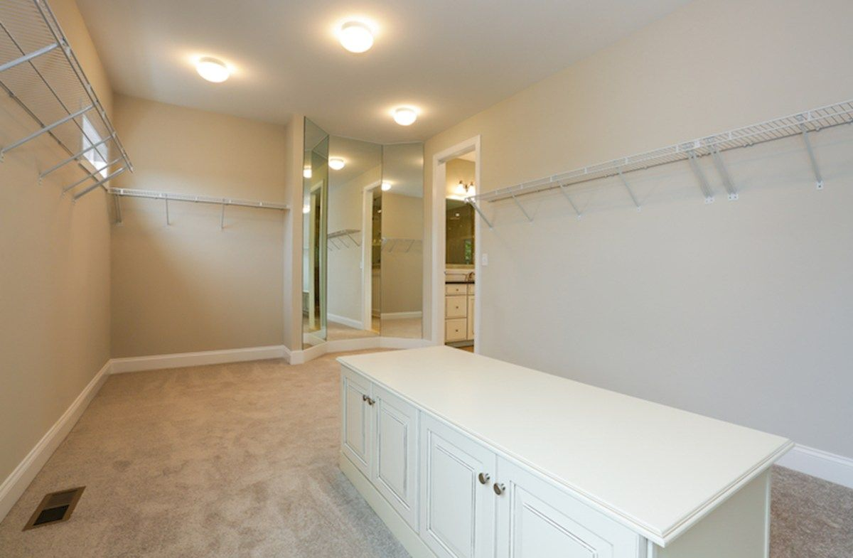 Closet-in-Coventry-at-Willowsford-in-Aldie
