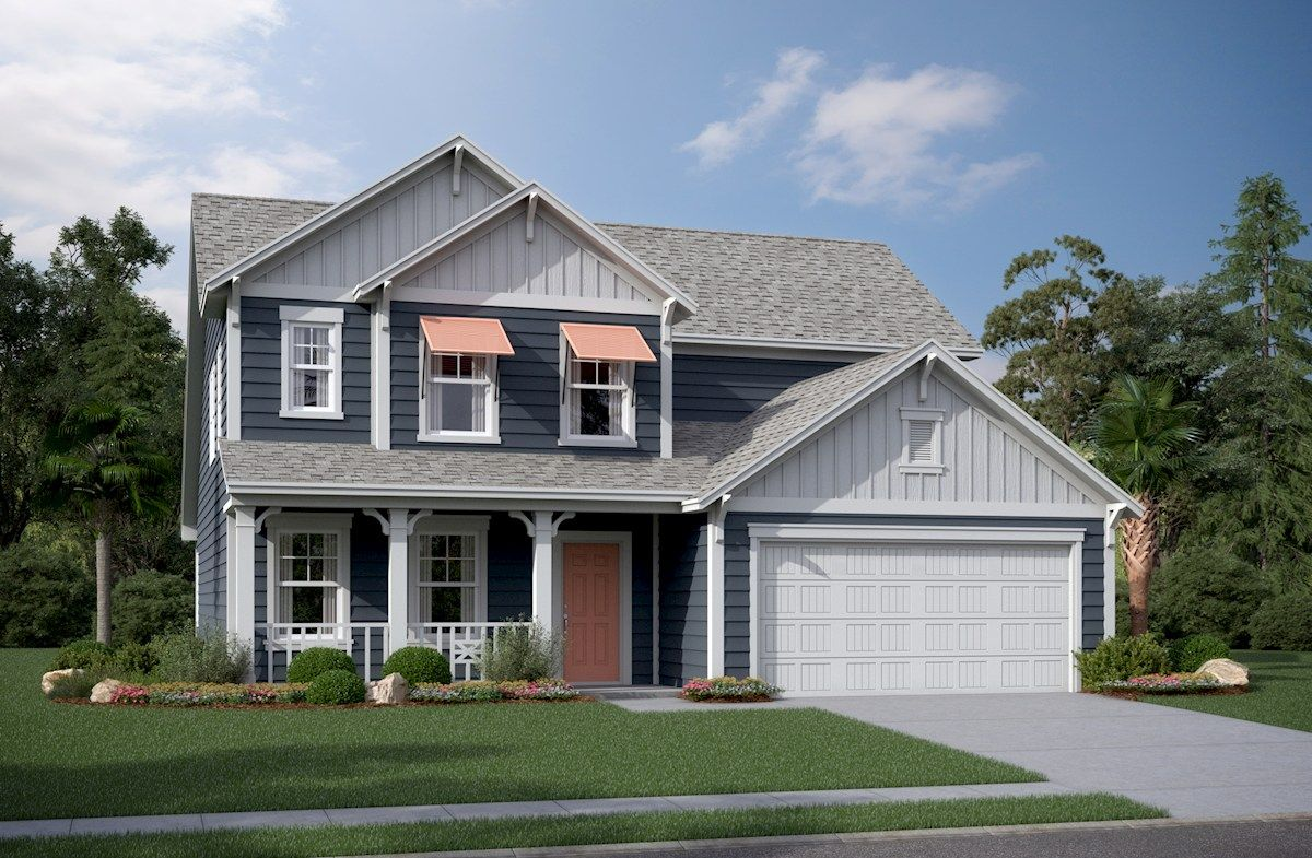 Exterior featured in the Windsor By Beazer Homes in Myrtle Beach, SC
