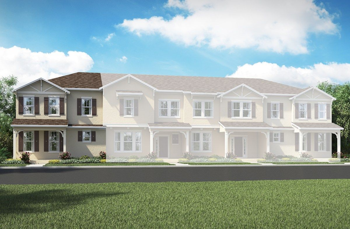 Concord   Summerlake Townhomes: Winter Garden, Florida   Beazer Homes