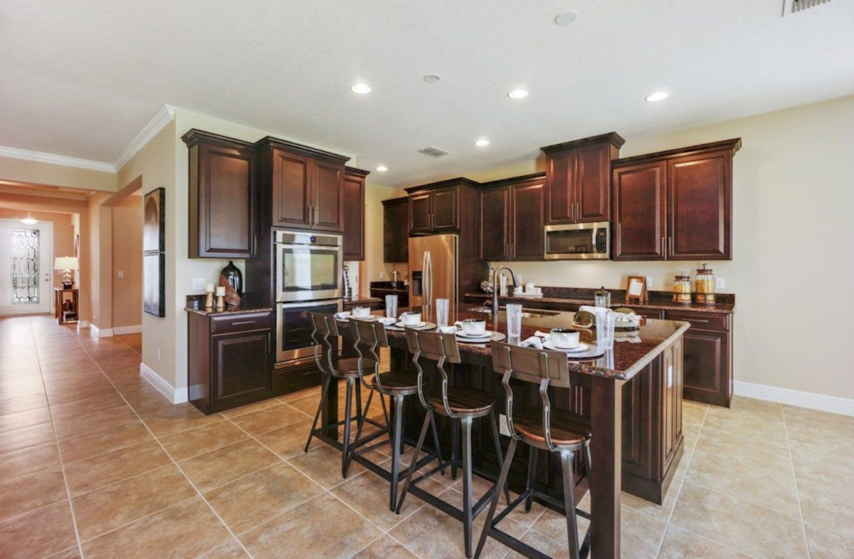 Kitchen-in-Macarthur II-at-Lakeshore of Wekiva-in-Apopka