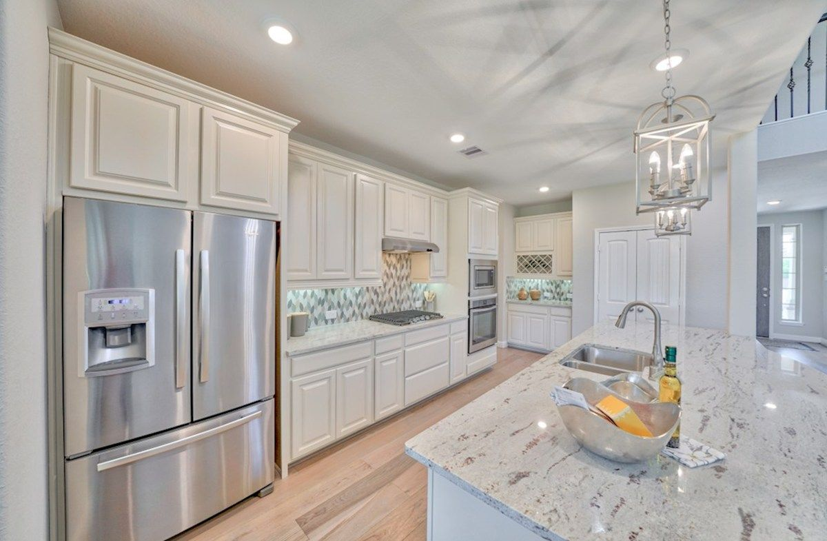 Kitchen featured in the Armstrong By Beazer Homes in Houston, TX